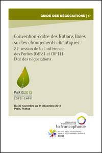Guide des négociations de la COP21