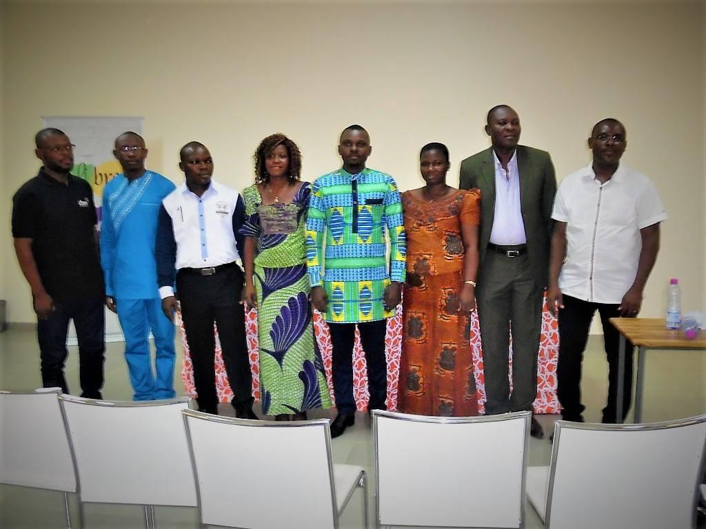 Le Bureau exécutif de PDS-TOGO à l'issue de l'Assemblée Générale constitutive