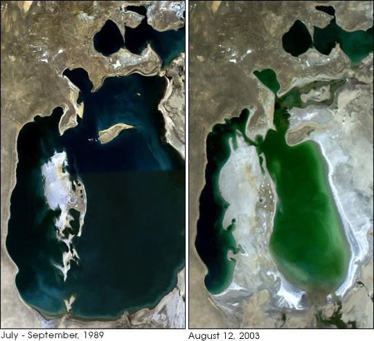 Mer d'Aral, le début d'une renaissance - Médiaterre