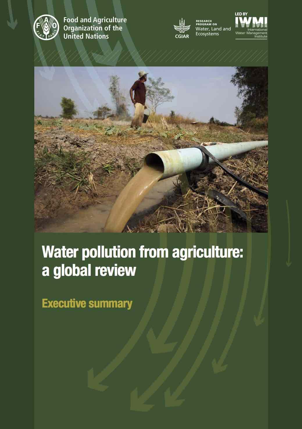 Pollution de l  39 eau par l  39 agriculture   probl  mes et